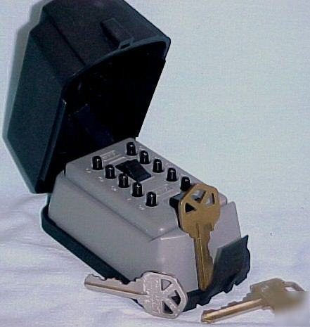 Hide A Key Outside In This Combination Lock Box
