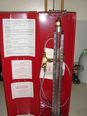 Water In Gas Tank >> Kuhlman gas pressure test gauge mint condition