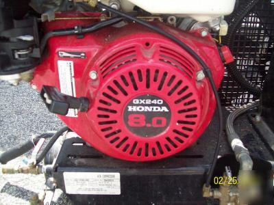 Portable 8hp Honda Gas Engine Air Compressor