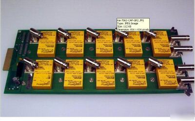 Keithley 7063 500 mhz rf relay switch card