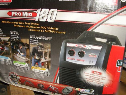 Lincoln Electric Pro Mig 180 Welder Wire Feeder