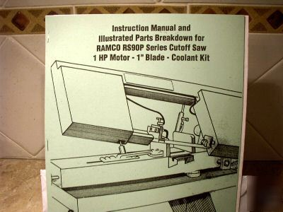 Ramco instruction and parts manual ramco RS90P series