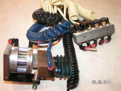 bimba flat ft 170 75 air pancake cylinder air manifold