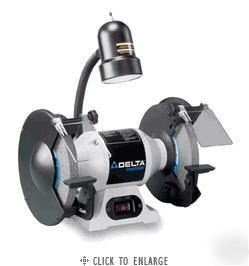 Delta Shopmaster 8 Quot Bench Grinder W Lamp Model Gr350