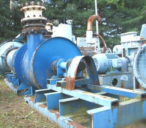 Two Stage Centrifugal Blower : Spencer multi stage centrifugal blower s d