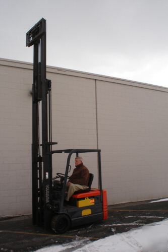 Toyota Of Grand Rapids >> Forklift 3500 pound toyota 5FBE18 fork lift truck
