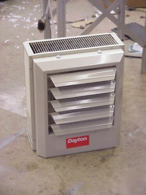 Dayton 5 Kw Electric Heater Unit 2yu63 480vac