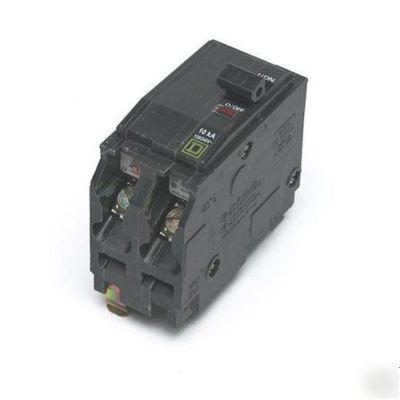 Square D Qo Style 2 Pole 20 Amp Breaker Rt 730